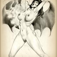 drawings Elvira porn